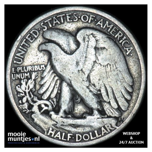half dollar - walking liberty - United States of America 1935 (KM 142) (kant B)