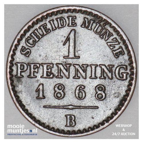 pfennig - German States/Prussia 1868 B (KM 480) (kant A)