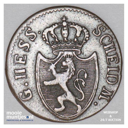 1/4 kreuzer (pfennig) - grand duchy - German States/Hesse-Darmstadt 1809 (KM 272