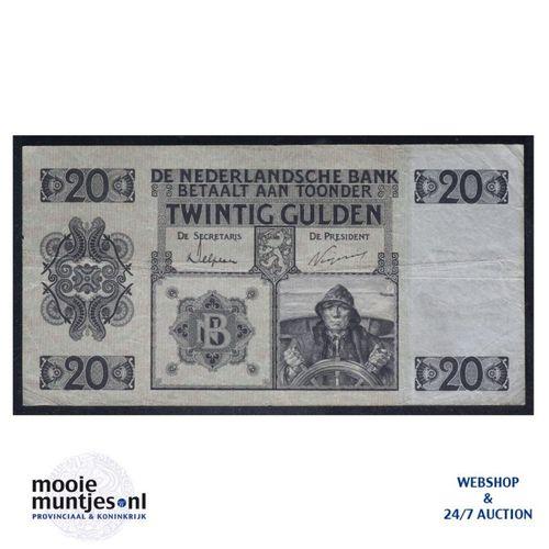 20 gulden - 1926 (Mev. 57-1b / AV 40) (kant A)