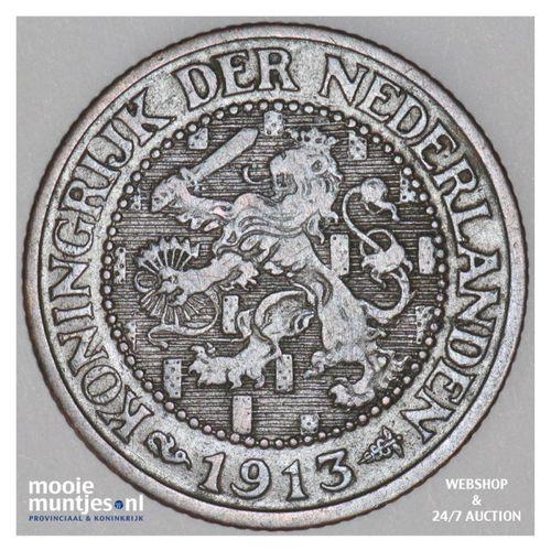 2½ cent - Willem III - 1913 (kant A)