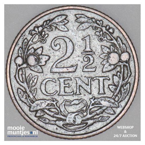 2½ cent - Willem III - 1913 (kant B)