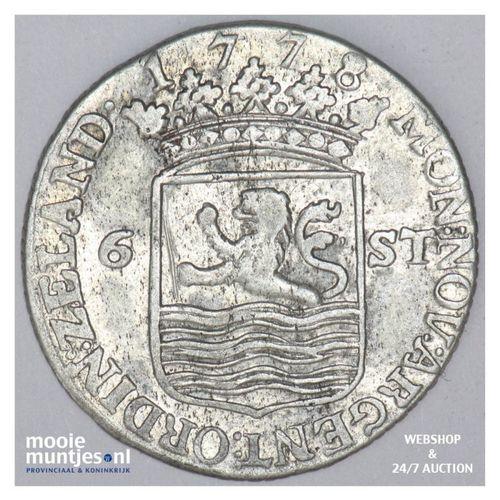 Zeeland - Scheepjesschelling - 1778 (kant A)