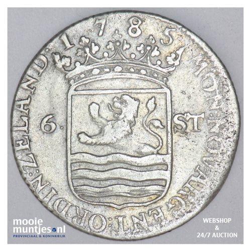 Zeeland - Scheepjesschelling - 1785 (kant A)