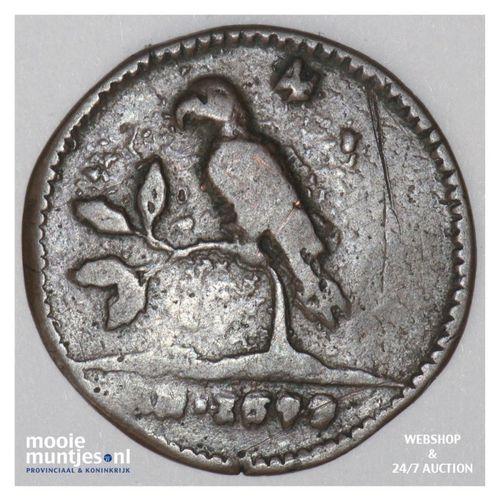 Suriname (koninkrijk)  - 4 duiten - 1679 (c) (kant A)