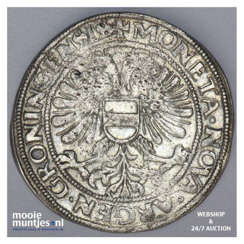 Stad Groningen - Acht stuiver of langrok - 1589 (kant B)