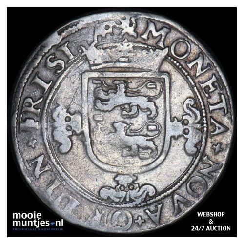 Friesland - Veertien stuiver of halve florijn - 1601 (kant B)