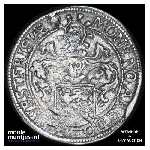 West-Friesland - Halve gehelmde rijksdaalder of halve Prinsendaalder  - 1596 (ka