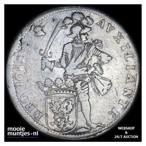 Nijmegen - Dubbele daalder - 1689 (kant A)