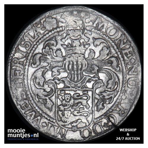 West-Friesland - Gehelmde rijksdaalder of Prinsendaalder - 1592 (kant B)