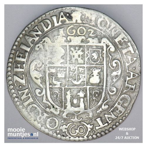 Zeeland - Arendsdaalder van 60 groot - 1602 (kant A)
