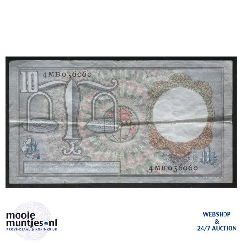 10 gulden  - 1953 (Mev. 48-1aa / AV 36) (kant B)