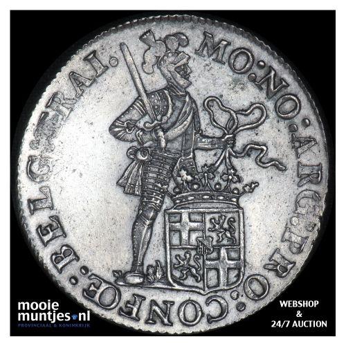 Zilveren dukaat of rijksdaalder - Lodewijk Napoleon - 1808 (kant B)
