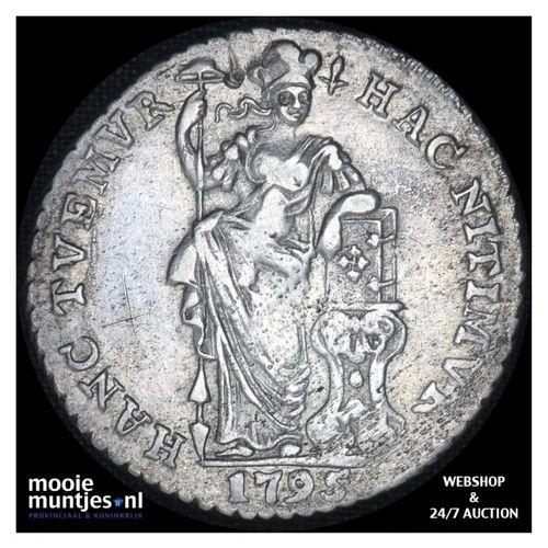 Gelderland - 1 gulden - 1795 (kant A)