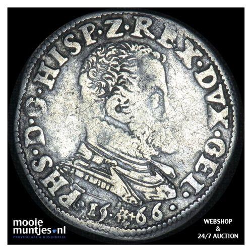 Gelderland - Vijfde Philipsdaalder - 1566 (kant A)
