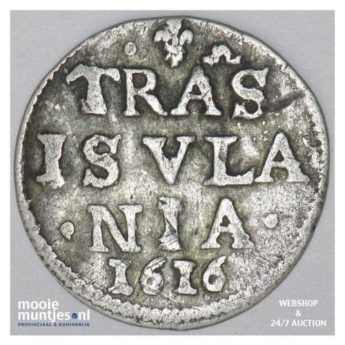 Overijssel - Dubbele stuiver - 1616 (kant A)