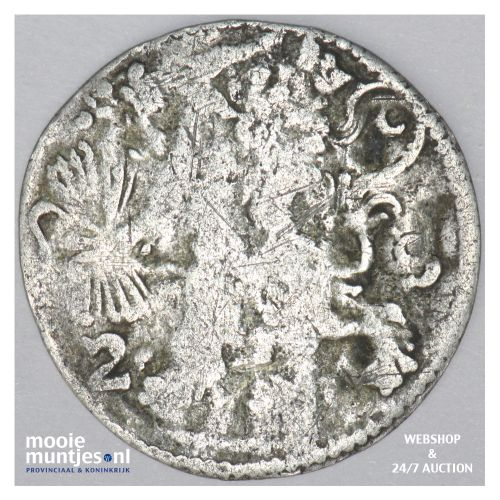 Overijssel - Dubbele stuiver - 1616 (kant B)