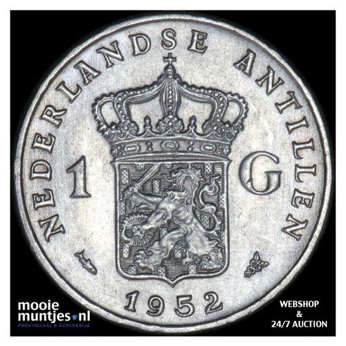 Nederlandse Antillen  - 1 gulden - 1952 (kant A)