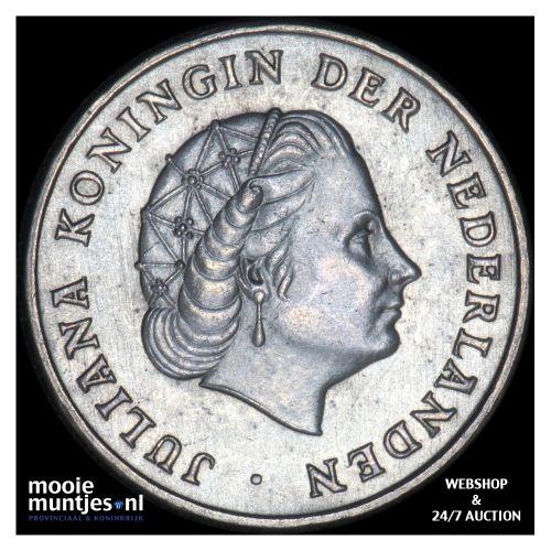 Nederlandse Antillen  - 1 gulden - 1952 (kant B)