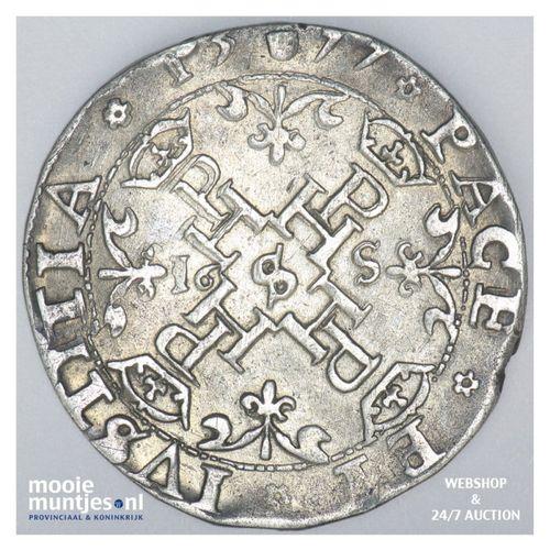 Utrecht - Halve statendaalder - 1577 (kant A)