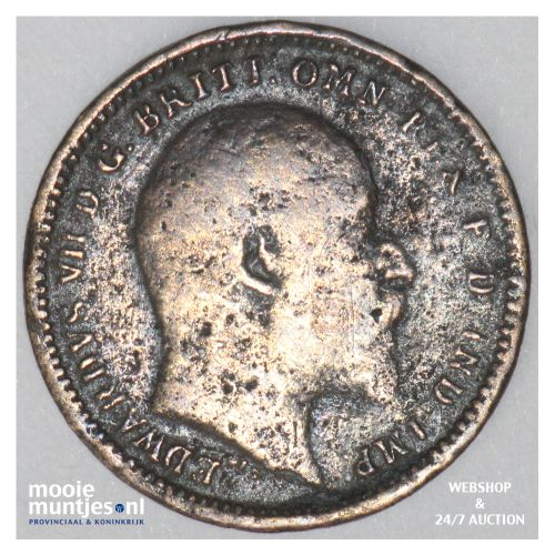 1/3 farthing - Great Britain 1902 (KM 791) (kant B)