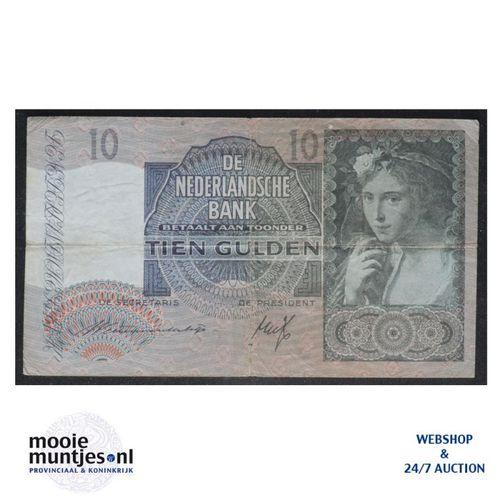 10 gulden  - 1940 (Mev. 42-1 / AV 31) (kant A)