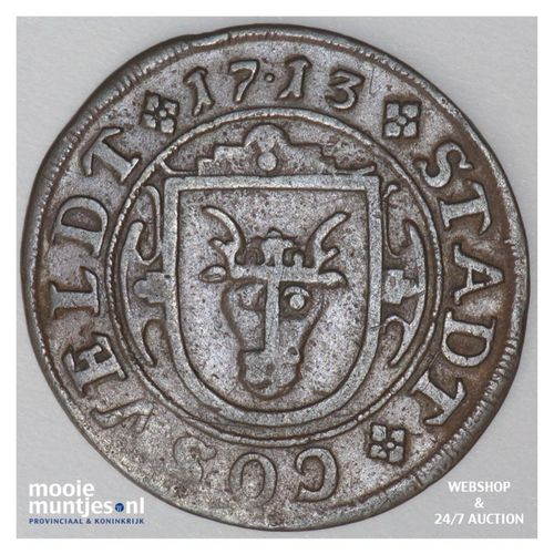 8 pfennig - German States/Coesfeld 1713 (KM 9) (kant A)