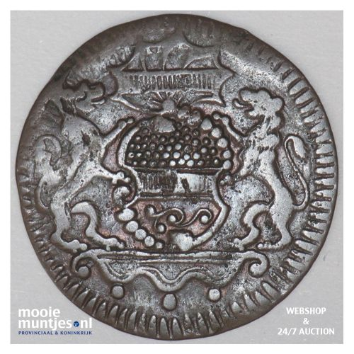 2 pfenning - (city) - German States/Munster 1758 (KM 337) (kant B)