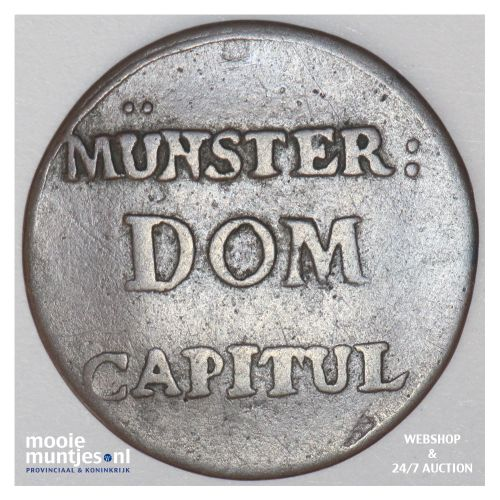 2 pfenning - (cathedral chapter) - German States/Munster 1790 (KM 451) (kant B)