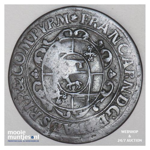 6 pfennig - boshopric - German States/Paderborn 1706 (KM 173.2) (kant B)