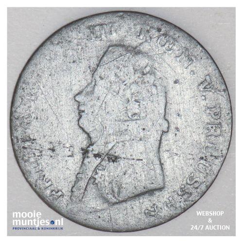 1/4 stuber (2-1/2 witten) - German States/East Friesland 1804 (KM 272) (kant B)