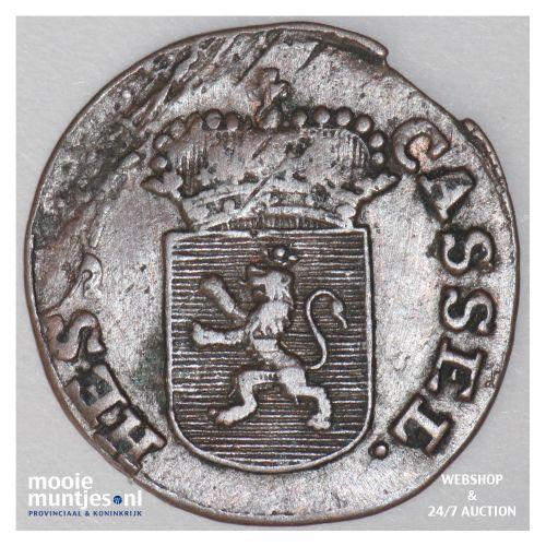 1/4 kreuzer - landgraviate (regional coinage) - German States/Hesse-Cassel 1802