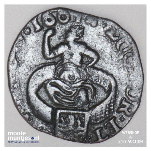 Zeeland - Duit - 1664 (kant A)