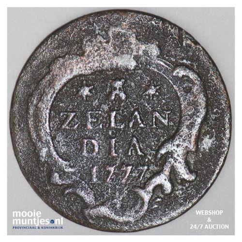 Zeeland - Duit - 1777 (kant A)