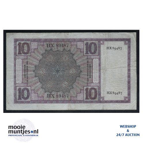 10 gulden  - 1924 (Mev. 39-2a / AV 28) (kant B)