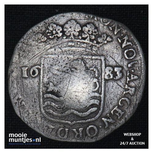 Zeeland - Hoedjesschelling - 1683 (kant A)