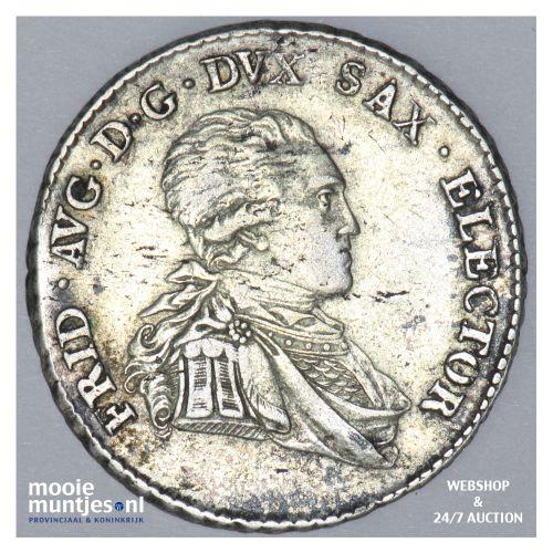 1/6 thaler (1/4 gulden) - electorate - German States/Saxony-Albertine 1803 (KM 1