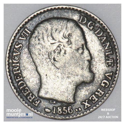 4 skilling rigsmont - Denmark 1856 (KM 758.2) (kant A)