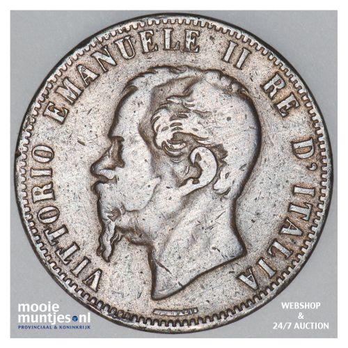 10 centesimi - Italy 1867 (KM 11.3) (kant B)