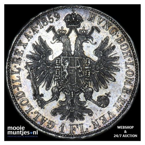 florin - Austria 1859 A (KM 2219) (kant A)