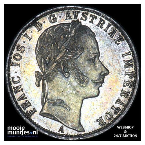 florin - Austria 1859 A (KM 2219) (kant B)