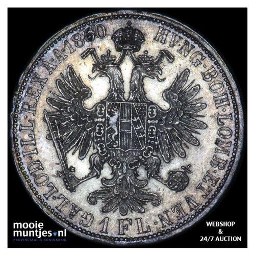 florin - Austria 1860 A (KM 2219) (kant A)