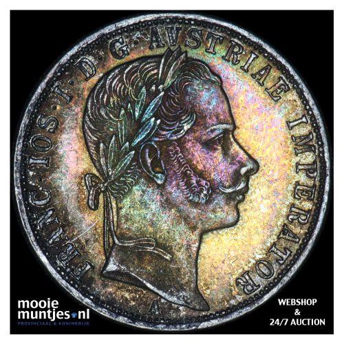 florin - Austria 1860 A (KM 2219) (kant B)