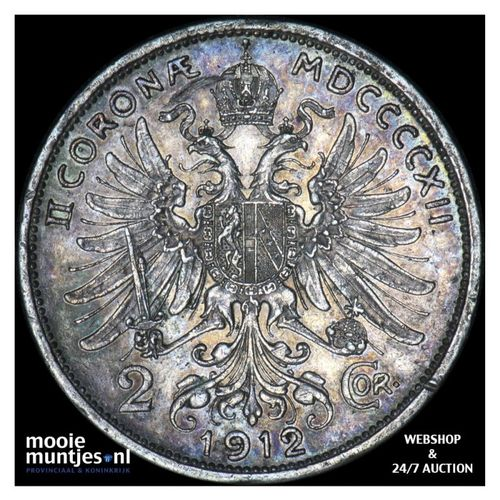 2 corona - Austria 1912 (KM 2821) (kant A)