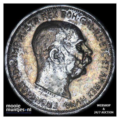 2 corona - Austria 1912 (KM 2821) (kant B)