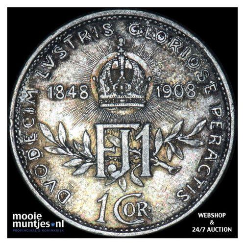 corona - Austria 1908 (KM 2808) (kant A)