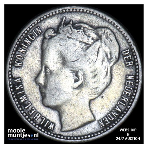 Curaçao - 1/4 gulden - 1900 (kant B)