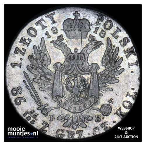 zloty - Poland 1818 MPO (KM C# 98) (kant A)