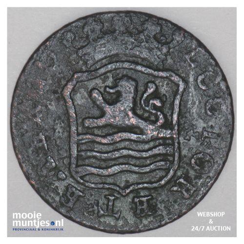 Zeeland - Duit - 1795 (kant B)