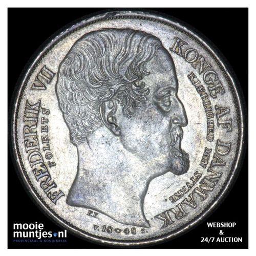 speciedaler - Denmark 1848  (KM 742) (kant A)